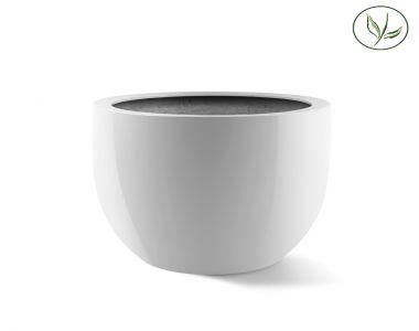 Amsterdam Egg Pot XL (D65H54) Blanc brillant