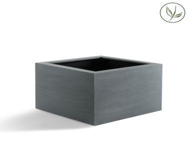 Amsterdam Low Cube XL (100x100x60) Gris-noir