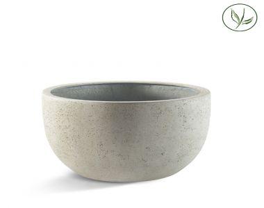 Paris New Egg Pot Low 80 - Vieux blanc (80x47)