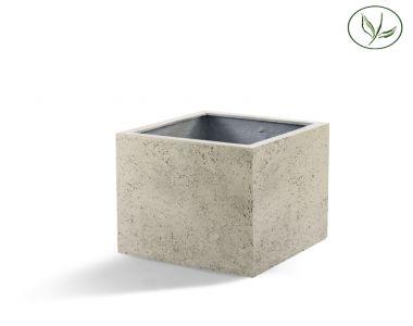 Paris Cube 80 - Vieux blanc (80x80x80)